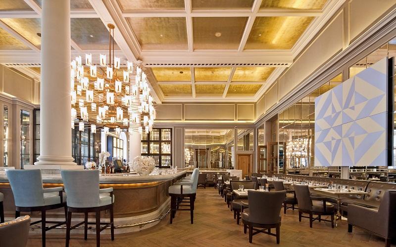 elegant Corinthia Hotel London