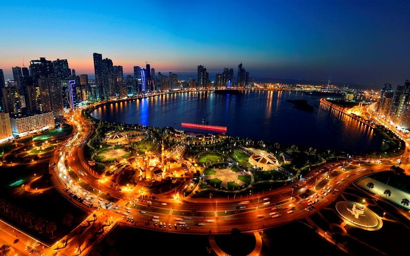 the heart of Sharjah