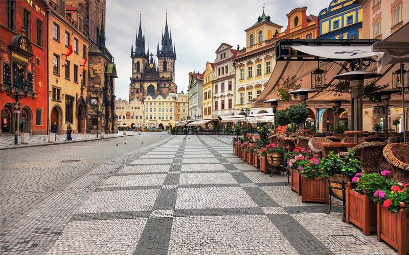the european cities