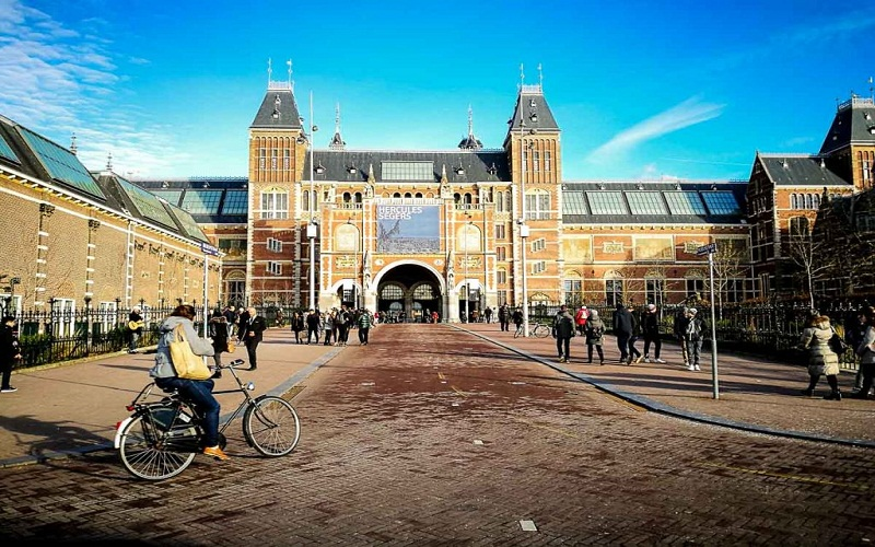 top Amsterdam in winter