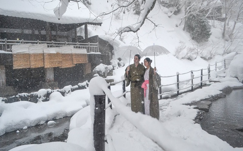 discover travel to Japan  in winter