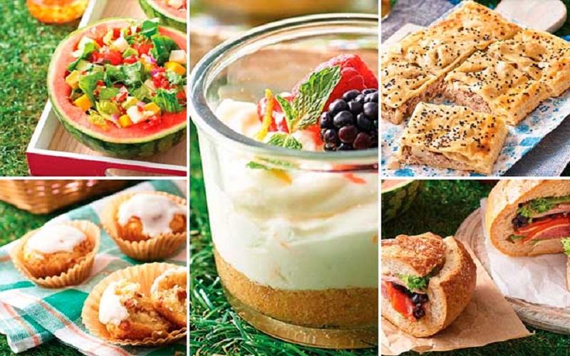 recipes for a beach picnic