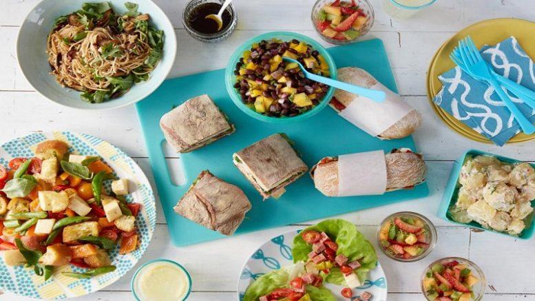 family picnic food