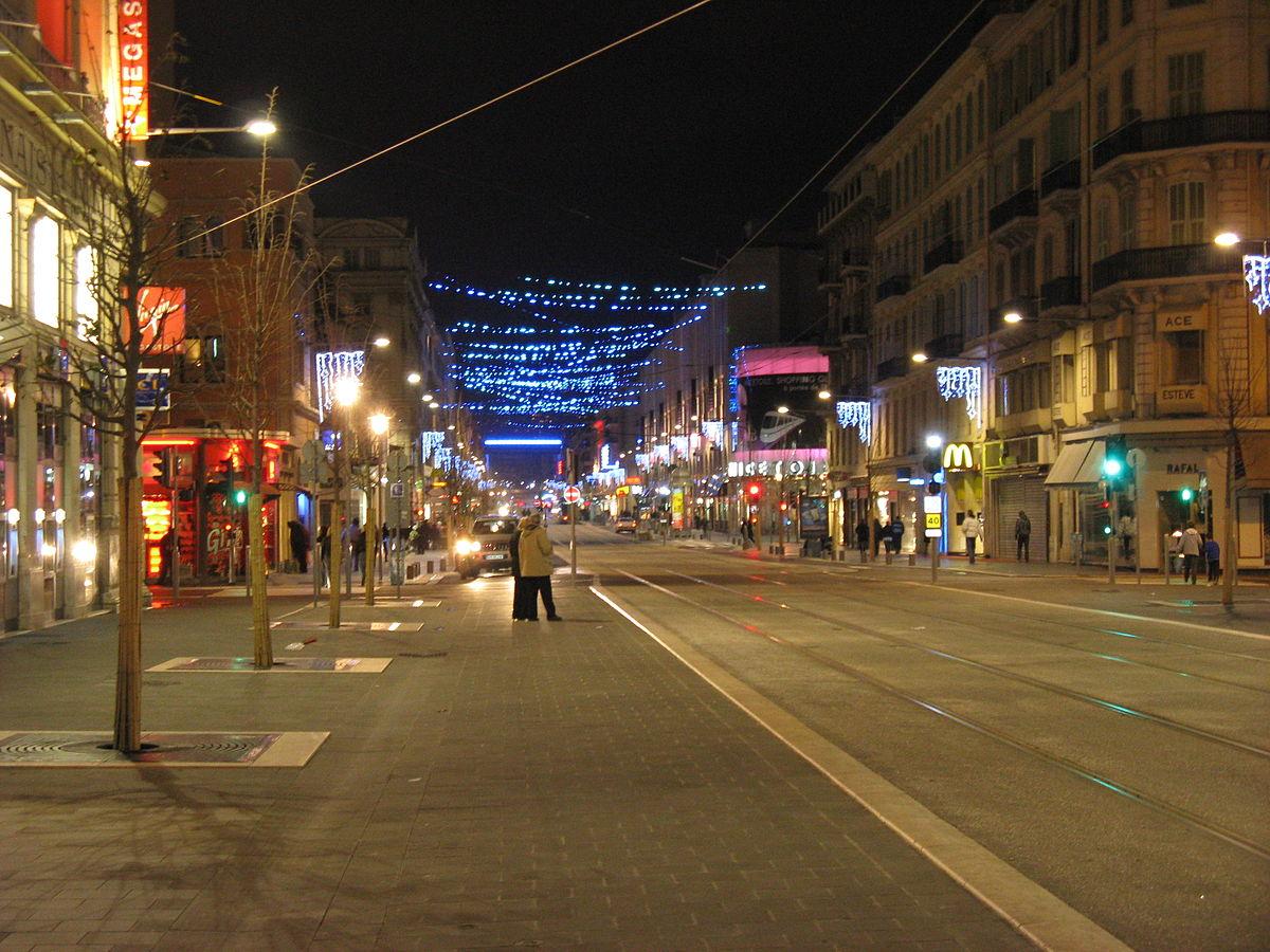 Jean Médecin Avenue