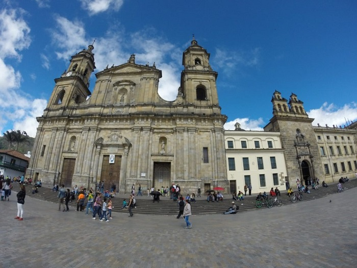 Bogota and its historic center