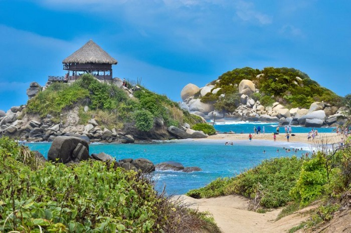Diving in the Tayrona National Park