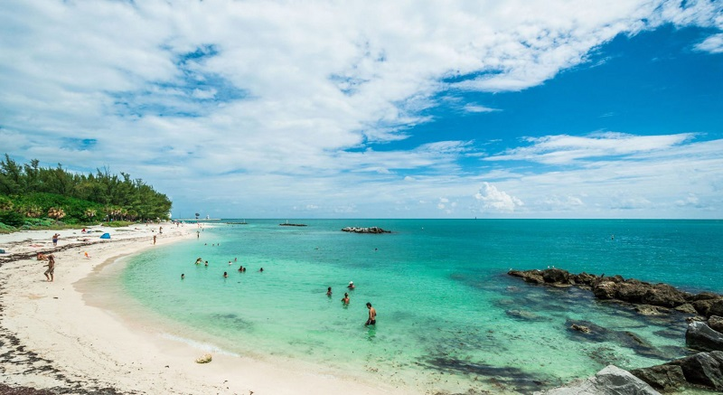 beaches in Key West